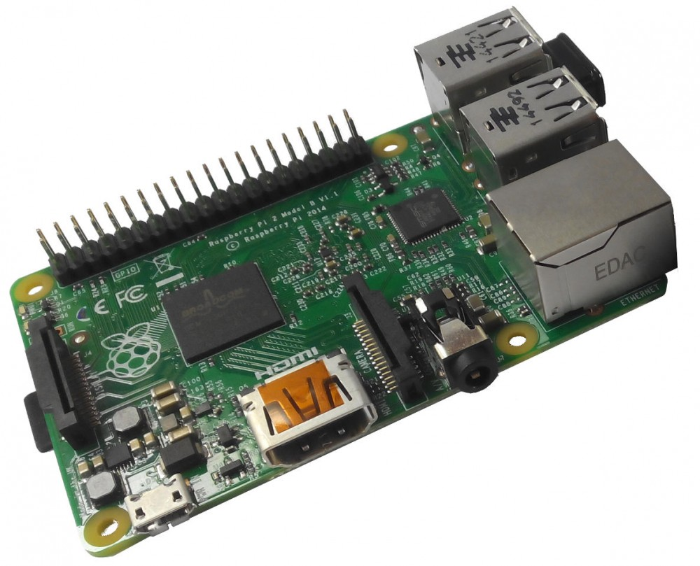 Foto de una Raspberry Pi 2
